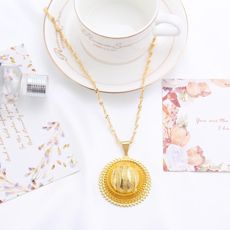 Shamty Bridal Sets Etiopiska smycken Nigeria Eritrea Kenya Afrikanska - Märkessmycken - Foto 3
