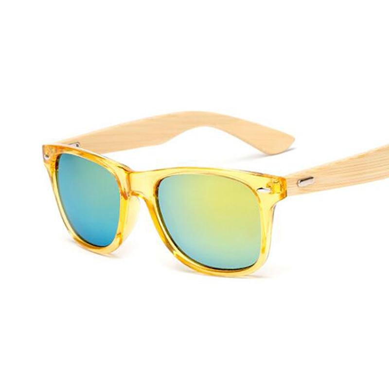 Woodsun ⃝vintage bamboo sunglasses men women brand designer fashion retro