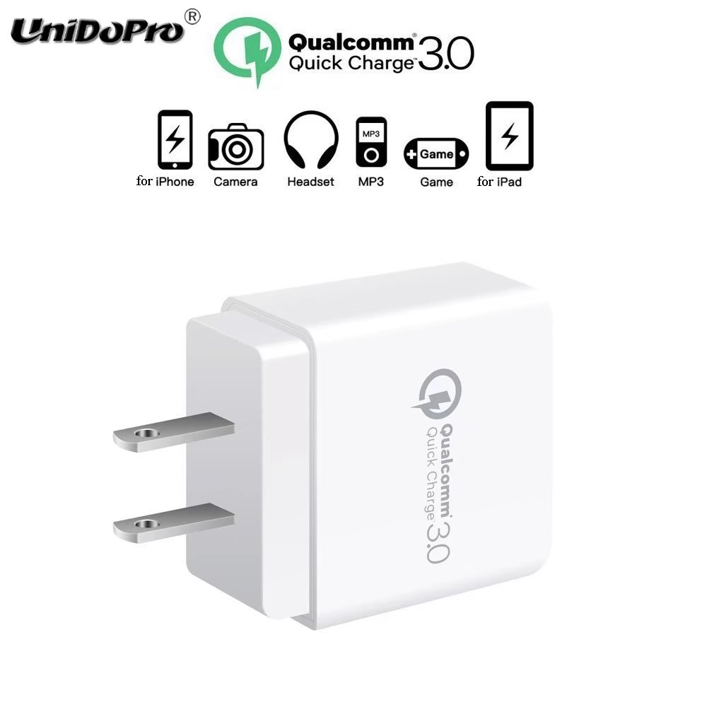 Quick charge qc 3.0 18w us / eu plug ac wall charger for ipad pro 12.9 11 10.5 9.7'' / air mini 5 4 3 2 1 fast charging adapter