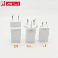 Oneplus-Adaptador de pared del cargador para teléfono móvil, cargador de carga rápida 5V 4A para Oneplus 5T 3T