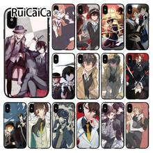 Ruicaica Bungou Stray Dogs DIY Painted Beautiful Phone Accessories Case for Apple iPhone 8 7 6 6S Plus X XS MAX 5 5S SE XR Cover(China)