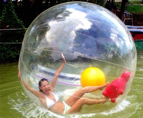 Livraison gratuite usine transparente marche sur boule d'eau, boule de marche gonflable de l'eau, boule de Zorb pour piscine d'eau - 3
