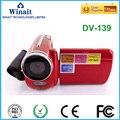 HD 720 P câmera de vídeo digital, 12mp mini câmara de vídeo digital com 1.88 ''tft e zoom digital 4x frete grátis