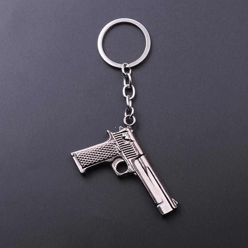 Counter Strike CS имитация оружия пустыня Брелок с фигуркой орла пистолеты брелок для ключей chaviro ювелирные сувениры, подарки для мужчин Рождество