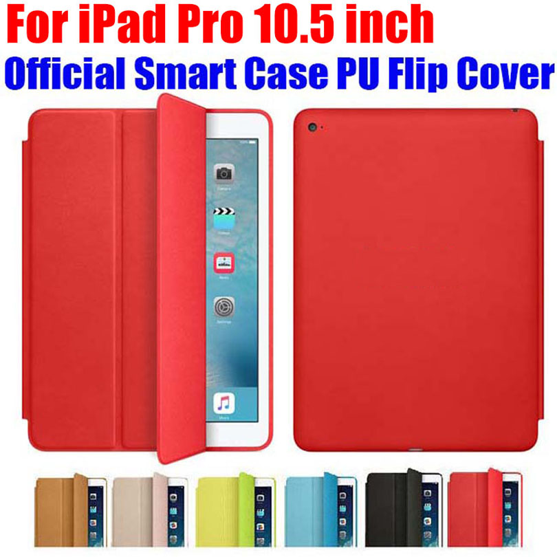 10pcs/Lot DHL Free Smart Case For Apple iPad Pro 10.5 inch official Fashion Ultra thin PU Leather Flip Cover For iPad Pro IPRS9 ultra thin smart flip pu leather cover for lenovo tab 2 a10 30 70f x30f x30m 10 1 tablet case screen protector stylus pen