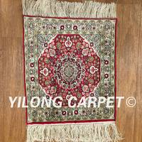 Yilong 1 X1 450Line Vintage Art Collection High Quality Handmade Exquisite Area Rug On Sale PWP019H