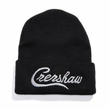 Dropshipping Nipsey Hussle Crenshaw Casual Beanies for Men Women Knitted Winter