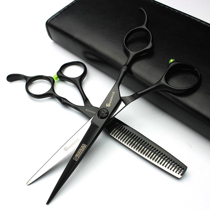 """6 """"japonez profesionale foarfece de coafura de tăiere păr instrument profesionale foarfece de păr foarfece frizer set"""