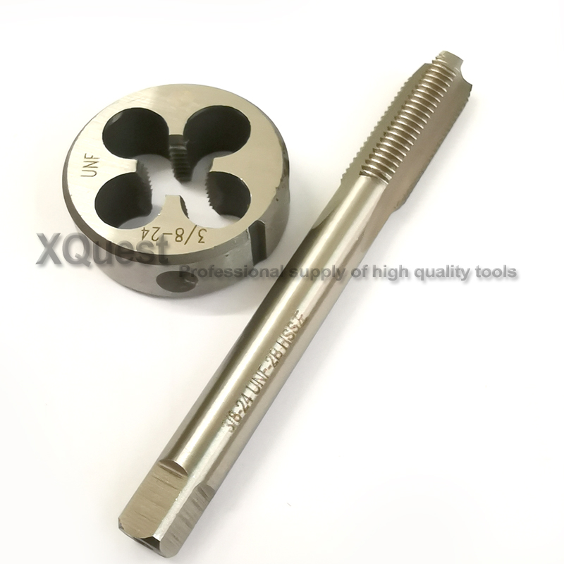 (2pcs) HSS Right Hand Tap 12# 28 Taps Threading 12-28 tap   (high quality)