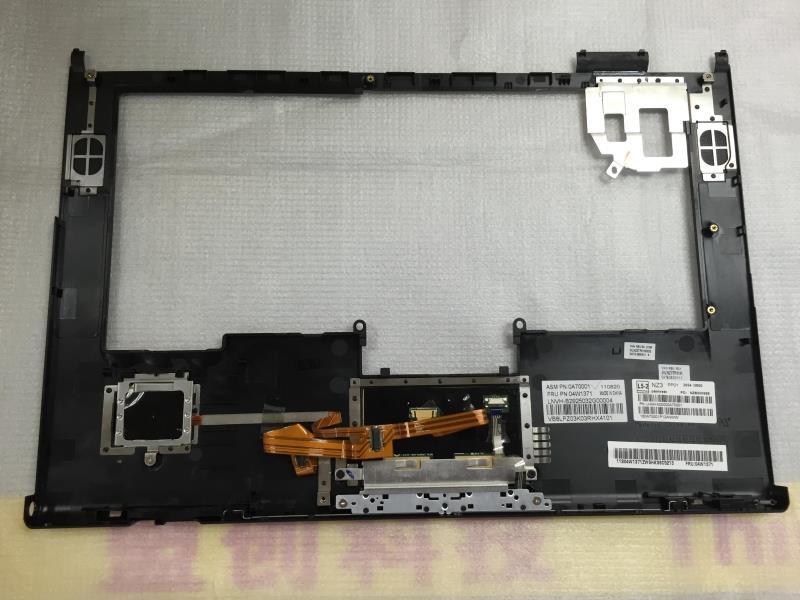 New Original For Thinkpad T420 T420i Palmrest Set Keyboard Bezel Cover With Touchpad Fingerprints W FP TP For Lenovo 04W1371