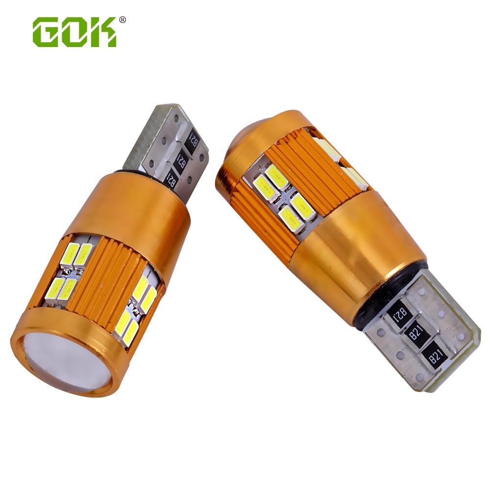 2pcs T10 udhëhequr Canbus Nuk ka gabim 3014 LED W5W T10 22smd 3014 - Dritat e makinave - Foto 1