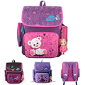 Hot Cartoon Bear School Backpacks Children School Bags Orthopedic Waterproof Girls School Backpacks Kids Satchel mochila escolar