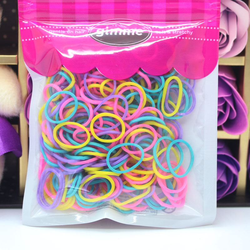mixed wholesale and bands accessories with rubber colorful box p loom diy color