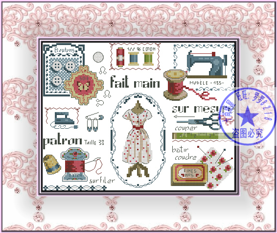 WINTER BIRDS COUNTED CROSS STITCH KIT 14 COUNT AIDA 30x26CM