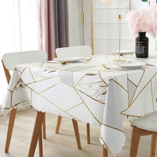 Pvc tablecloth, waterproof, oilproof, anti-scalding, disposable household modern coffee table, table mat