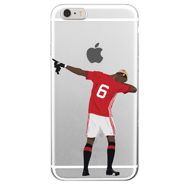 Sport Football Soccer Star Cristiano Ronaldo Messi Benzema  Phone Soft silicone Case For iphone SE 5 5s 6s 7 7plus