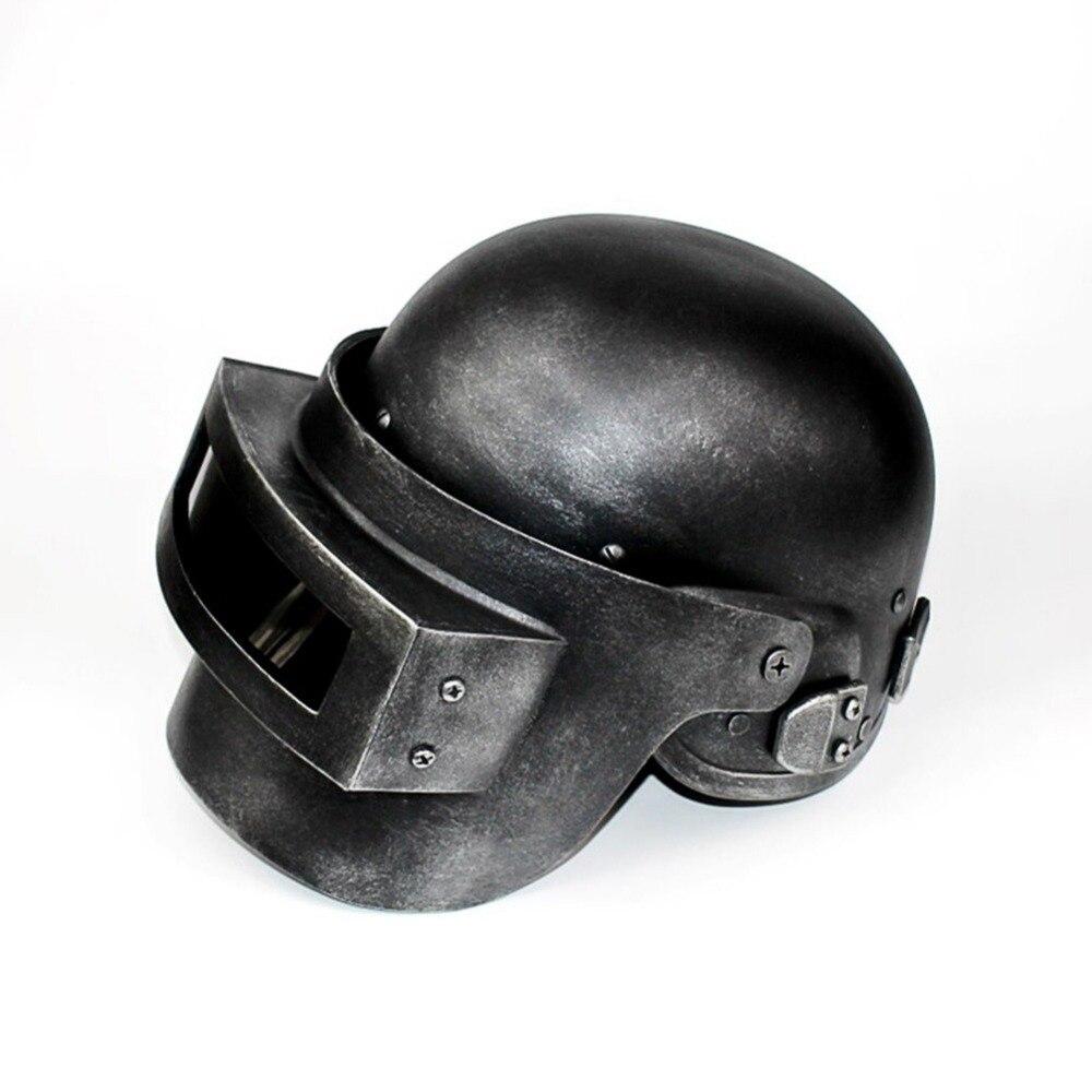 Pubg cosplay frango jantar nível 3 capacete playerunknown campo de batalha terceira classe cabeça boné rosto cosplay jogo de role play adereços