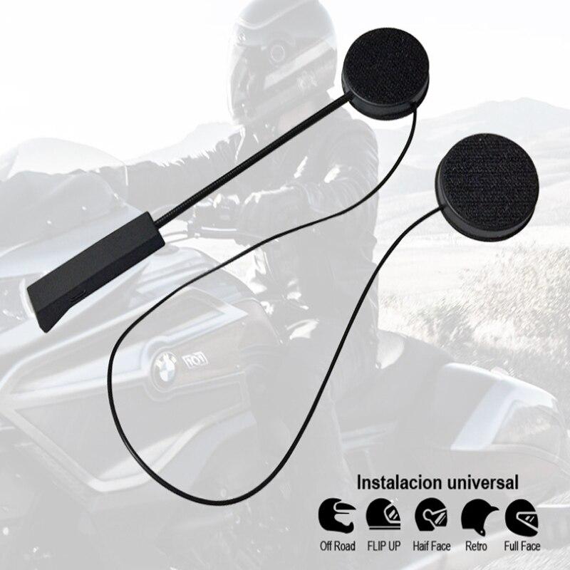 Moto Chapeau casque, bluetooth écouteur casque 4.0 + EDR, haut-parleur casque automatiquement réponses Bluetooth écouteur