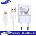 Original 2A Wall Charger + 1M USB Data Cable for Samsung Galaxy S3 S4 Alpha Note 2