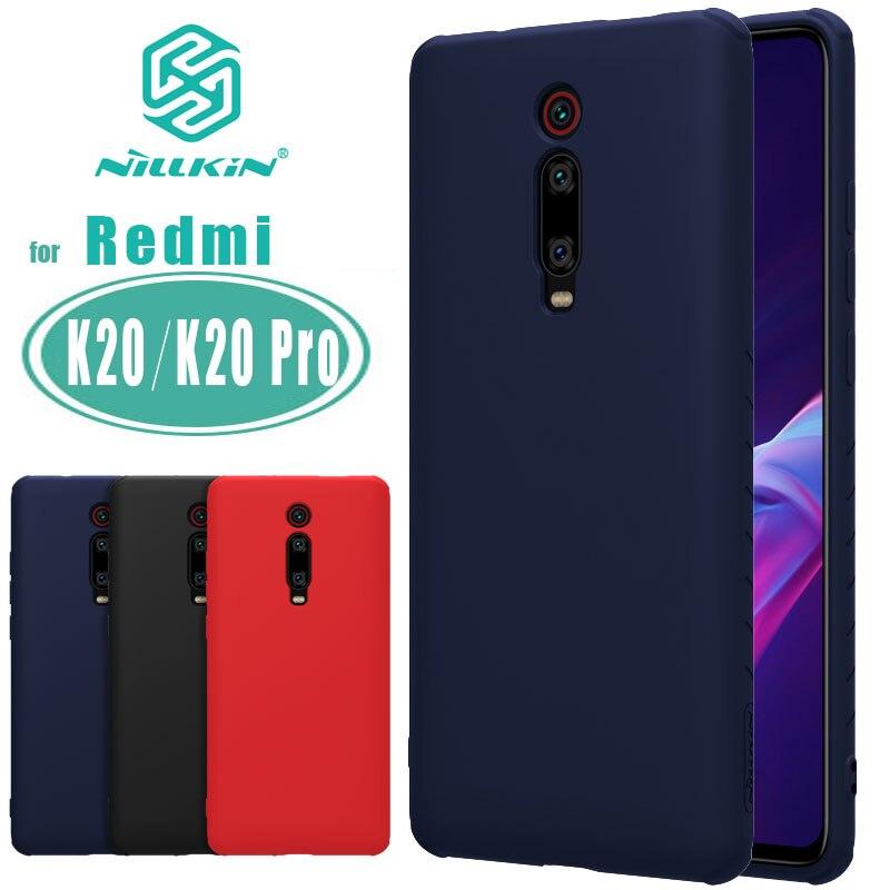 For Xiaomi Redmi K20 K20 Pro Case Nillkin Rubber Wrapped Liquid Silicone Soft Touch Back Cover For Xiaomi Mi 9T 9T Pro Case