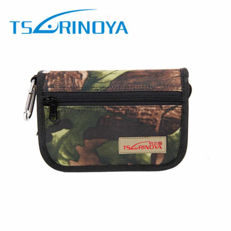 Tsurinoya Multi-Fungsi Memancing Sendok Bag 18.5X12.5X5.2 Cm Kapasitas Besar Memancing Aksesoris Tas Penyimpanan Spinnerbait cover