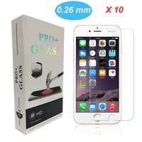 10pcs 0 26mm 2 5D Best Price Ultra Thin HD Clear Explosion Proof Tempered Glass Screen