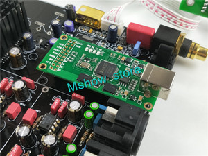 Image 5 - لوحة فك الترميز الجديدة hifi TOP ES9038 ES9038PRO DAC لوحة مجمعة + TCXO 0.1PPM + جهاز تحكم عن بعد + خيار USB XMOS XU208 أو Amanero