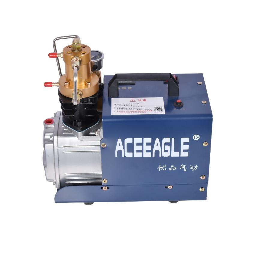 30MPa 1.8KW Electric High Pressure Air Pump Compressor for Pneumatic Airgun Scuba Rifle PCP Inflator 220V 50L/min