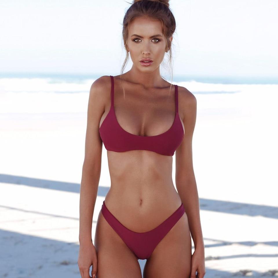 0815f5fd34ea8 COSPOT Bikini Set Thong Bathing Suit Push Up Swimsuit Sexy Women Swimwear
