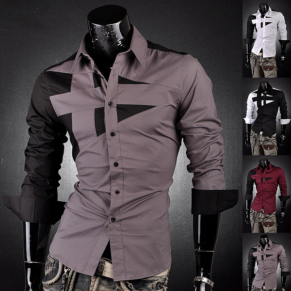 Online Buy Wholesale designer mens dress shirts from China ...