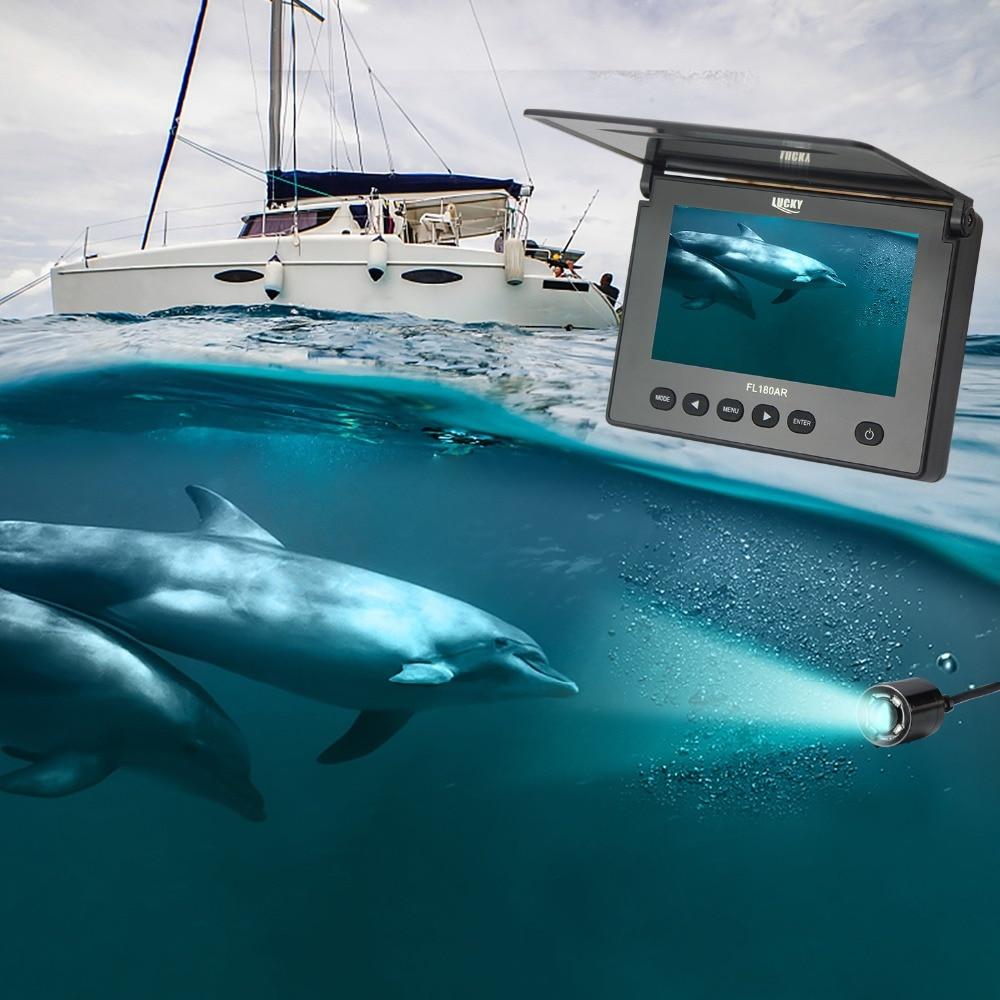 CHANCEUX Caméra Sous-Marine Fish Finder Sous-Marine Glace De Pêche Caméra 4.3 LCD Moniteur