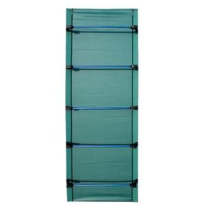 Image 3 - الألومنيوم للطي مخيم السرير المحمولة سرير تخييم قابل للطي خفيفة سرير قابل للطي