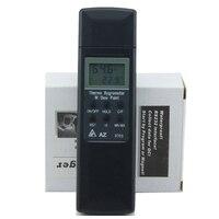 Aletler'ten Nem Ölçerler'de AZ 8703 Cep Tipi Dijital Higrometre Sıcaklık nem test cihazı Derece Ölçer Termometre/Çiğ Noktası lcd ekran