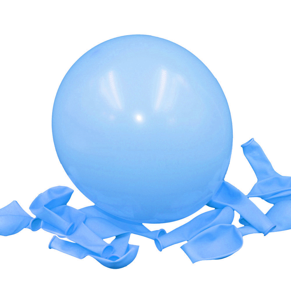 100pcs/lot 10 inch2.2g Latex balloon Helium Round balloons 16colors Thick Pearl