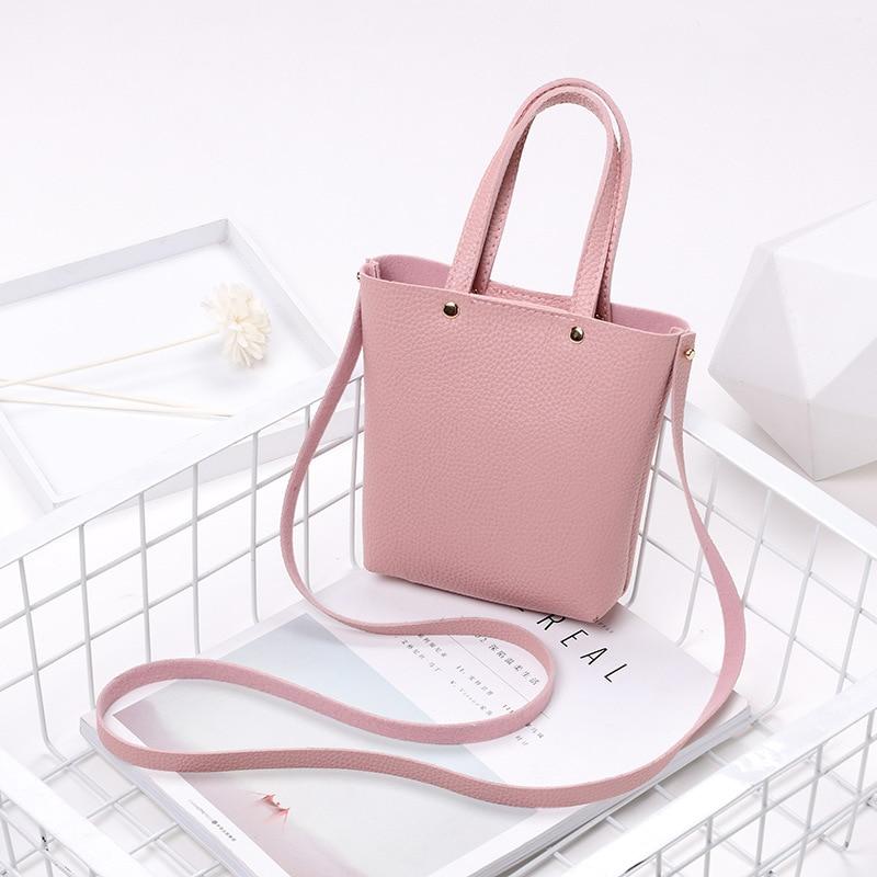 Women Satchel Shopping Purse Messenger Crossbody Bags Candy Rivet Coin Purse Lady Small Messenger Bag Carteras Y Bolsos De Mujer
