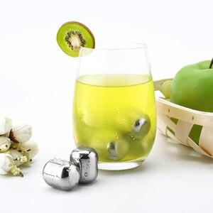 Image 3 - Youpin cubito de hielo circular Joy 304 de acero inoxidable, máquina de hielo lavable a largo plazo para corchos de vino, zumo de fruta H20