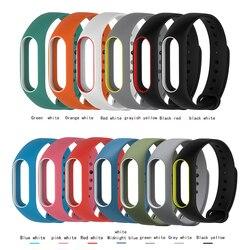 1 шт. Xiaomi mi Band 2 для mi Band 2 Силиконовый браслет ремешок mi band 2 цветной ремешок браслет Сменные аксессуары