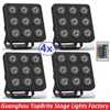 2017 Mini Led Par Light Flat Led Panel Show Stage Effect Lights 9x4W 4in1 RGBW RGBUV