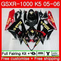 Средства ухода за кожей Работа для Suzuki GSX R1000 K5 GSXR1000 05 06 Средства ухода за кожей 37hs17 gsxr 1000 GSXR 1000 05 06 rizla красный GSX R1000 2005 2006 обтекатели