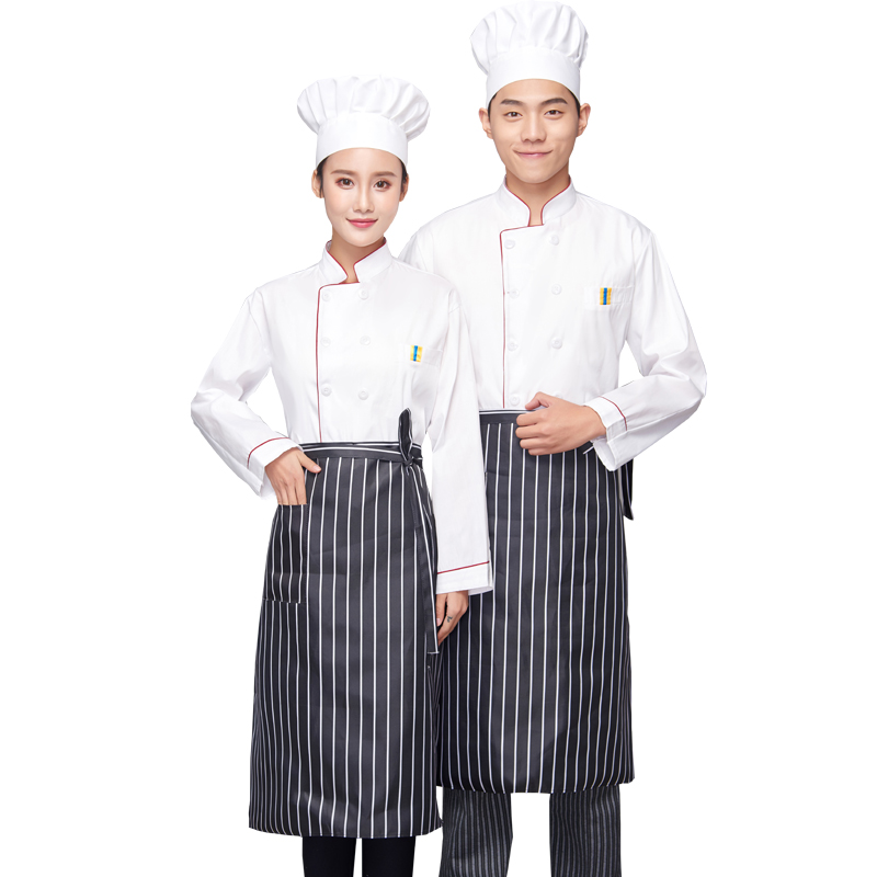 2018New Chefs Short-sleeved Breathable Outfit Summer Wear Work Clothes Men and Women Overalls Coats Hotel Chef Jacket Uniform