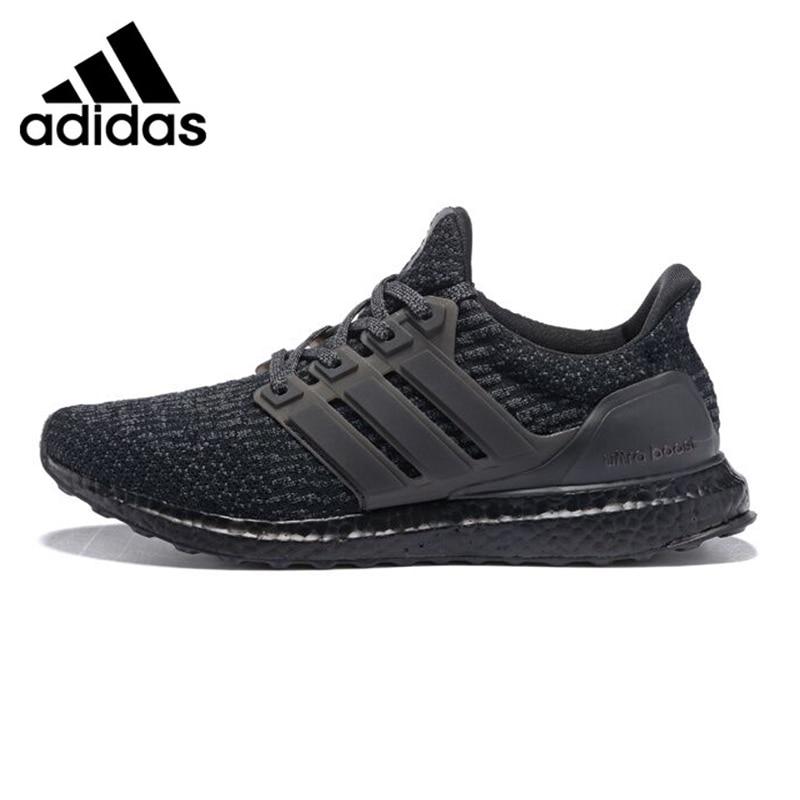 Adidas UltraBoost Triple Black Men's Running Shoes, Black, Shock Absorption Non-slip Abrasion Resistant Lightweight BA8923