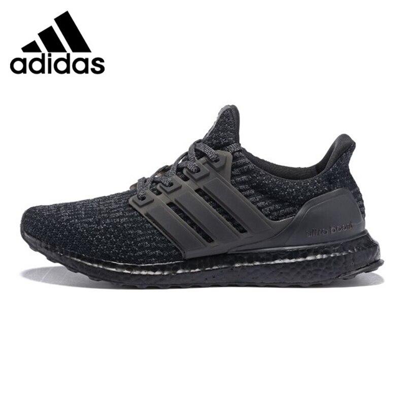 Adidas UltraBoost Triple Noir Chaussures de Course Pour Hommes, Noir, absorption des chocs antidérapante Résistant À L'abrasion Léger BA8923