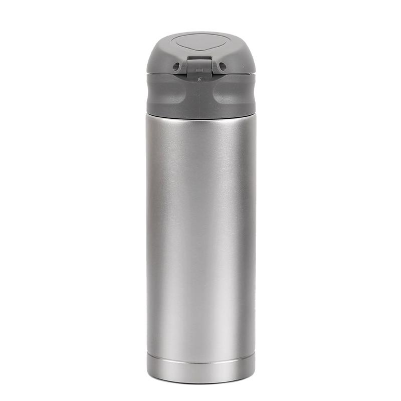 Venda quente Titunium vacuume parede dupla copo Portátil garrafa de água do esporte Ao Ar Livre Do Piquenique drinkware 400ml