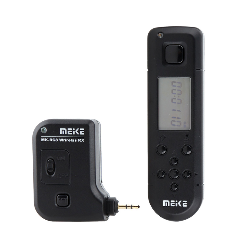 MEIKE MK-RC8 100M FSK 2.4G Wireless Timer Shutter Remote Control (C1) for Canon стоимость