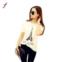 Женские футболки с коротким рукавом, Топ для женщин, лето, цветочные элегантные женские футболки высокого качества с забавным принтом