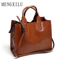 DIZHIGE Big Leather Bags Handbags Women Famous Brands Women Casual Trunk Tote Spanish Brand Shoulder Bag