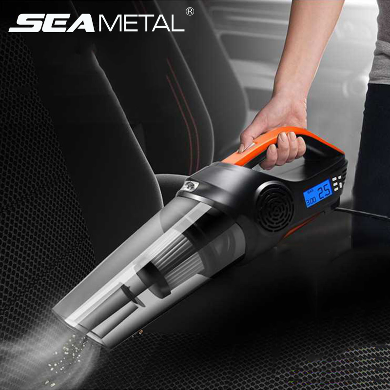 4 in 1 Car Vacuum Cleaner Portable Auto Wet And Dry Mini Vacumm Cleaner DC12V 120W