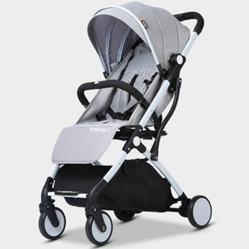 TIANRUI baby stroller foldable easy to carry high landscapeTIANRUI baby stroller foldable easy to carry high landscape