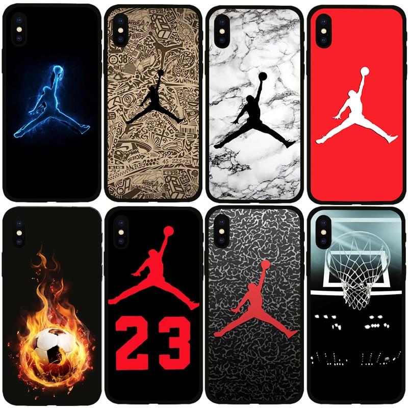 7d23103635d Jordan 23 Phone Case For Iphone X Xs Max Xr 10 Ten 8 7 6 6 s Plus 5 5s Se