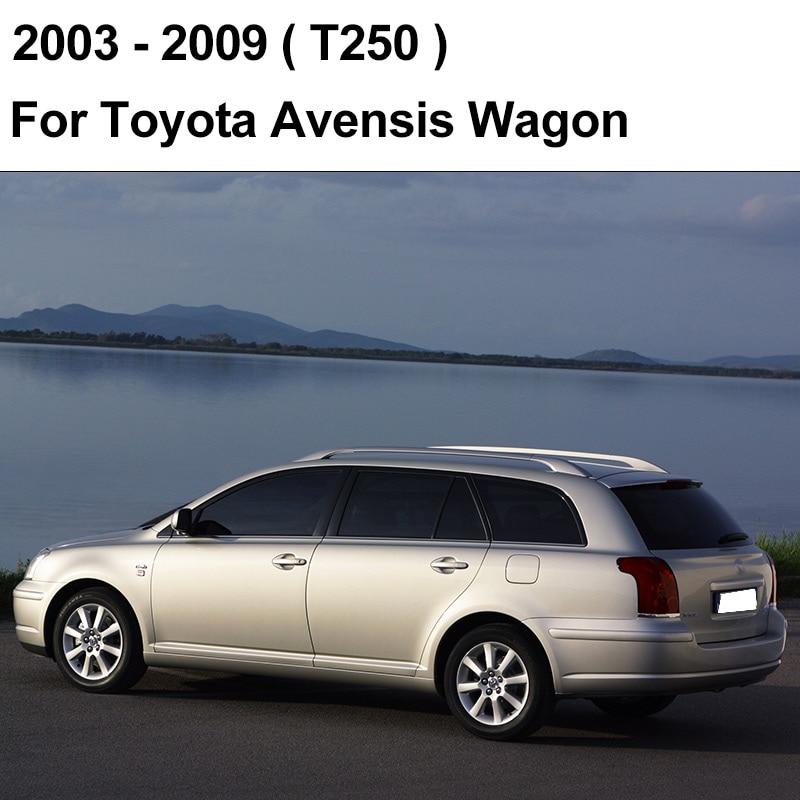 REFRESH Щетки стеклоочистителя для Toyota Avensis T250 / T270 / Verso Mk2 Mk3 Подходит для крепления крюка / кнопочных ручек Долговечная резина - Цвет: 2003 - 2009 (Wagon)